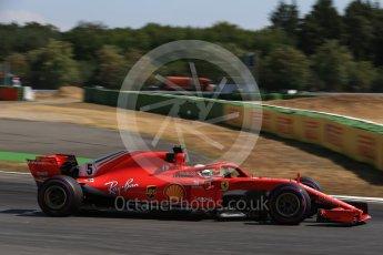 World © Octane Photographic Ltd. Formula 1 – German GP - Practice 2. Scuderia Ferrari SF71-H – Sebastian Vettel. Hockenheimring, Baden-Wurttemberg, Germany. Friday 20th July 2018.