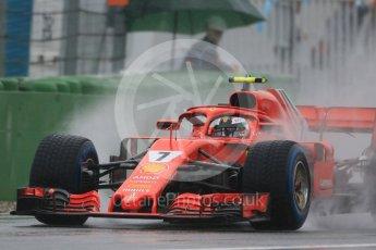 World © Octane Photographic Ltd. Formula 1 – German GP - Practice 3. Scuderia Ferrari SF71-H – Kimi Raikkonen. Hockenheimring, Baden-Wurttemberg, Germany. Saturday 21st July 2018.