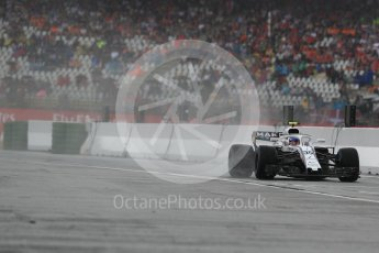 World © Octane Photographic Ltd. Formula 1 – German GP - Practice 3. Williams Martini Racing FW41 – Sergey Sirotkin. Hockenheimring, Baden-Wurttemberg, Germany. Saturday 21st July 2018.