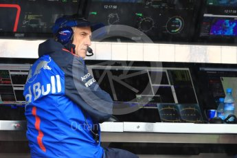 World © Octane Photographic Ltd. Formula 1 – German GP - Practice 3. Franz Tost – Team Principal of Scuderia Toro Rosso. Hockenheimring, Baden-Wurttemberg, Germany. Saturday 21st July 2018.