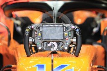 World © Octane Photographic Ltd. Formula 1 – German GP - Practice 3. McLaren MCL33 – Fernando Alonso. Hockenheimring, Baden-Wurttemberg, Germany. Saturday 21st July 2018.