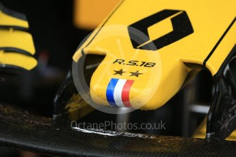 World © Octane Photographic Ltd. Formula 1 – German GP - Practice 3. Renault Sport F1 Team RS18. Hockenheimring, Baden-Wurttemberg, Germany. Saturday 21st July 2018.
