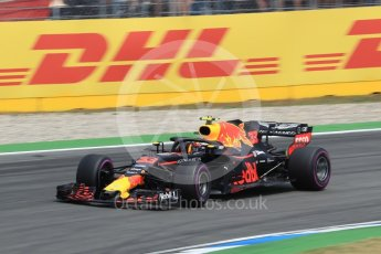 World © Octane Photographic Ltd. Formula 1 – German GP - Race. Aston Martin Red Bull Racing TAG Heuer RB14 – Max Verstappen. Hockenheimring, Baden-Wurttemberg, Germany. Sunday 22nd July 2018.