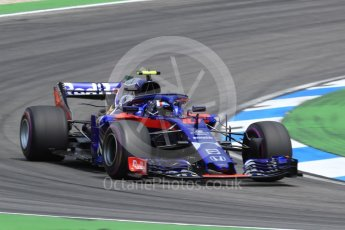 World © Octane Photographic Ltd. Formula 1 – German GP - Race. Scuderia Toro Rosso STR13 – Pierre Gasly. Hockenheimring, Baden-Wurttemberg, Germany. Sunday 22nd July 2018.