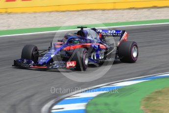 World © Octane Photographic Ltd. Formula 1 – German GP - Race. Scuderia Toro Rosso STR13 – Brendon Hartley. Hockenheimring, Baden-Wurttemberg, Germany. Sunday 22nd July 2018.