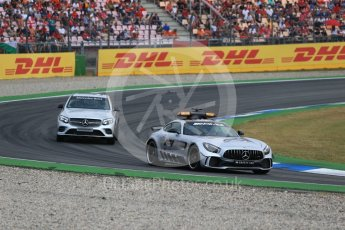 World © Octane Photographic Ltd. Formula 1 – German GP - Race. Mercedes AMG Safety and Race Control cars. Hockenheimring, Baden-Wurttemberg, Germany. Sunday 22nd July 2018.