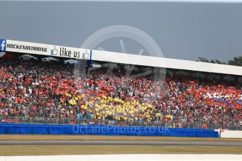 World © Octane Photographic Ltd. Formula 1 – German GP - Race. German flag made up of fan held cards. Hockenheimring, Baden-Wurttemberg, Germany. Sunday 22nd July 2018.