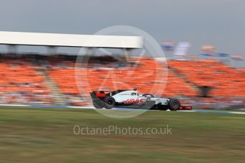 World © Octane Photographic Ltd. Formula 1 – German GP - Race. Haas F1 Team VF-18 – Romain Grosjean. Hockenheimring, Baden-Wurttemberg, Germany. Sunday 22nd July 2018.