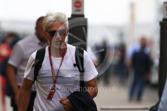 World © Octane Photographic Ltd. Formula 1 – German GP - Paddock. Damon Hill. Hockenheimring, Baden-Wurttemberg, Germany. Sunday 22nd July 2018.