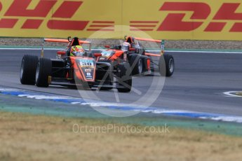 World © Octane Photographic Ltd. ADAC Formula 4 (F4). Van Amersfoort Racing - Liam Lawson and Frederick Vesti. Hockenheimring Qualifying, Baden-Wurttemberg, Germany. Saturday 21st July 2018.