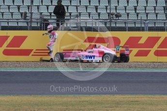 World © Octane Photographic Ltd. ADAC Formula 4 (F4). ADAC Berlin-Brandenburg e.V. - Amaury Cordeel. Hockenheimring Qualifying, Baden-Wurttemberg, Germany. Saturday 21st July 2018.