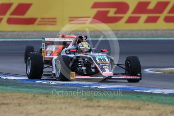 World © Octane Photographic Ltd. ADAC Formula 4 (F4). US Racing - CHRS - Tom Beckhauser and Van Amersfoort Racing - Joey Alders. Hockenheimring Qualifying, Baden-Wurttemberg, Germany. Saturday 21st July 2018.
