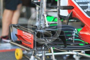 World © Octane Photographic Ltd. Formula 1 – German GP - Pitlane. Haas F1 Team VF-18. Hockenheimring, Baden-Wurttemberg, Germany. Thursday 19th July 2018.