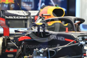 World © Octane Photographic Ltd. Formula 1 – German GP - Pitlane. Aston Martin Red Bull Racing TAG Heuer RB14. Hockenheimring, Baden-Wurttemberg, Germany. Thursday 19th July 2018.