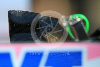 World © Octane Photographic Ltd. Formula 1 – German GP - Pitlane. Sahara Force India VJM11. Hockenheimring, Baden-Wurttemberg, Germany. Thursday 19th July 2018.