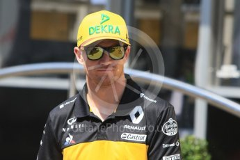 World © Octane Photographic Ltd. Formula 1 – German GP - Paddock. Renault Sport F1 Team RS18 – Nico Hulkenberg. Hockenheimring, Baden-Wurttemberg, Germany. Thursday 19th July 2018.