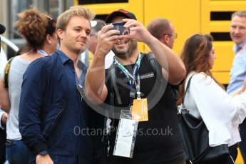 World © Octane Photographic Ltd. Formula 1 - German GP - Paddock. Nico Rosberg. Hockenheimring, Baden-Wurttemberg, Germany. Saturday 21st July 2018.