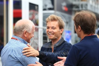 World © Octane Photographic Ltd. Formula 1 - German GP - Paddock. Nico Rosberg. Hockenheimring, Baden-Wurttemberg, Germany. Saturday 21st July 2018.