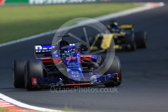 World © Octane Photographic Ltd. Formula 1 – Hungarian GP - Race. Scuderia Toro Rosso STR13 – Brendon Hartley. Hungaroring, Budapest, Hungary. Sunday 29th July 2018.