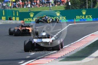 World © Octane Photographic Ltd. Formula 1 – Hungarian GP - Race. Haas F1 Team VF-18 – Romain Grosjean. Hungaroring, Budapest, Hungary. Sunday 29th July 2018.