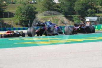 World © Octane Photographic Ltd. Formula 1 – Hungarian GP - Race. Scuderia Toro Rosso STR13 – Pierre Gasly. Hungaroring, Budapest, Hungary. Sunday 29th July 2018.