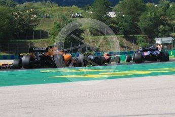 World © Octane Photographic Ltd. Formula 1 – Hungarian GP - Race. McLaren MCL33 – Fernando Alonso. Hungaroring, Budapest, Hungary. Sunday 29th July 2018.