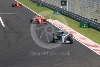 World © Octane Photographic Ltd. Formula 1 – Hungarian GP - Race. Mercedes AMG Petronas Motorsport AMG F1 W09 EQ Power+ - Valtteri Bottas. Hungaroring, Budapest, Hungary. Sunday 29th July 2018.