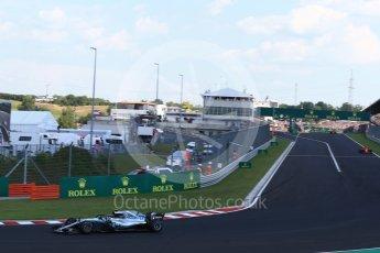 World © Octane Photographic Ltd. Formula 1 – Hungarian GP - Race. Mercedes AMG Petronas Motorsport AMG F1 W09 EQ Power+ - Valtteri Bottas. Hungaroring, Budapest, Hungary. Sunday 29th July 2018.