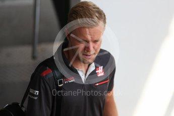 World © Octane Photographic Ltd. Formula 1 – Hungarian GP - Paddock. Haas F1 Team – Kevin Magnussen. Hungaroring, Budapest, Hungary. Friday 27th July 2018.