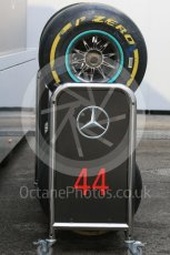 World © Octane Photographic Ltd. Formula 1 – Hungarian GP - Paddock. Mercedes AMG Petronas Motorsport AMG F1 W09 EQ Power+ - Lewis Hamilton. Hungaroring, Budapest, Hungary. Saturday 28th July 2018.