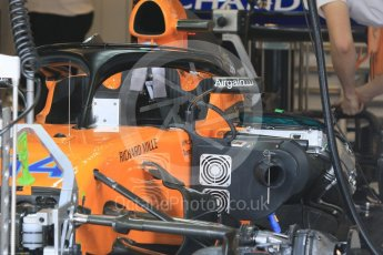 World © Octane Photographic Ltd. Formula 1 – Hungarian GP - Morning setup. McLaren MCL33. Hungaroring, Budapest, Hungary. Saturday 28th July 2018.
