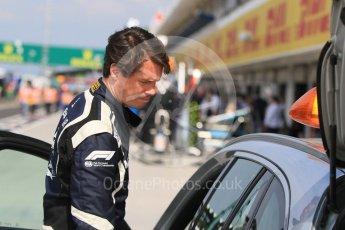 World © Octane Photographic Ltd. Formula 1 – Hungarian GP - Morning setup. Mercedes AMG C63s Medical car driver Alan van der Merwe. Hungaroring, Budapest, Hungary. Saturday 28th July 2018.