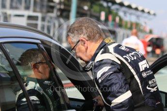 World © Octane Photographic Ltd. Formula 1 – Hungarian GP - Morning setup. Mercedes AMG C63s Medical car doctor Dr. Ian Roberts. Hungaroring, Budapest, Hungary. Saturday 28th July 2018.