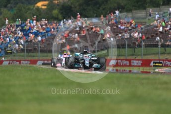 World © Octane Photographic Ltd. Formula 1 – Hungarian GP - Practice 1. Mercedes AMG Petronas Motorsport AMG F1 W09 EQ Power+ - Lewis Hamilton. Hungaroring, Budapest, Hungary. Friday 27th July 2018.