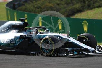 World © Octane Photographic Ltd. Formula 1 – Hungarian GP - Practice 2. Mercedes AMG Petronas Motorsport AMG F1 W09 EQ Power+ - Lewis Hamilton. Hungaroring, Budapest, Hungary. Friday 27th July 2018.