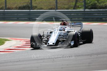 World © Octane Photographic Ltd. Formula 1 – Hungarian GP - Practice 3. Alfa Romeo Sauber F1 Team C37 – Marcus Ericsson. Hungaroring, Budapest, Hungary. Saturday 28th July 2018.