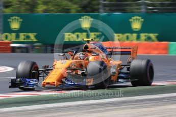 World © Octane Photographic Ltd. Formula 1 – Hungarian GP - Practice 3. McLaren MCL33 – Stoffel Vandoorne. Hungaroring, Budapest, Hungary. Saturday 28th July 2018.