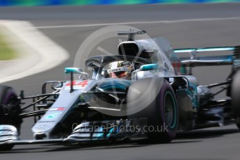 World © Octane Photographic Ltd. Formula 1 – Hungarian GP - Practice 3. Mercedes AMG Petronas Motorsport AMG F1 W09 EQ Power+ - Lewis Hamilton. Hungaroring, Budapest, Hungary. Saturday 28th July 2018.