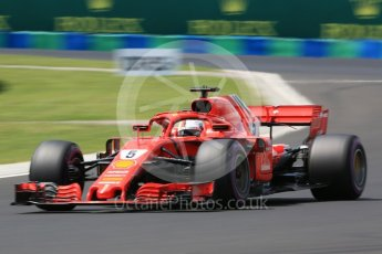 World © Octane Photographic Ltd. Formula 1 – Hungarian GP - Practice 3. Scuderia Ferrari SF71-H – Sebastian Vettel. Hungaroring, Budapest, Hungary. Saturday 28th July 2018.