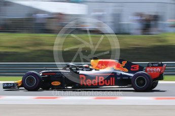 World © Octane Photographic Ltd. Formula 1 – Hungarian GP - Practice 3. Aston Martin Red Bull Racing TAG Heuer RB14 – Daniel Ricciardo. Hungaroring, Budapest, Hungary. Saturday 28th July 2018.