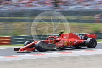 orld © Octane Photographic Ltd. Formula 1 – Hungarian GP - Practice 3. Scuderia Ferrari SF71-H – Sebastian Vettel. Hungaroring, Budapest, Hungary. Saturday 28th July 2018.