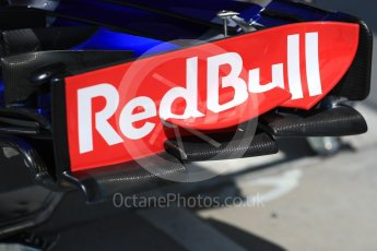 World © Octane Photographic Ltd. Formula 1 – Hungarian GP - Practice 3. Scuderia Toro Rosso STR13. Hungaroring, Budapest, Hungary. Saturday 28th July 2018.