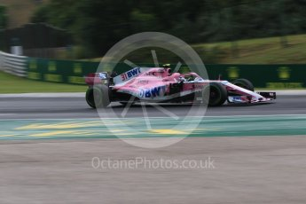 World © Octane Photographic Ltd. Formula 1 – Hungarian GP - Qualifying. Sahara Force India VJM11 - Esteban Ocon. Hungaroring, Budapest, Hungary. Saturday 28th July 2018.