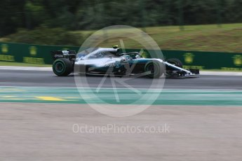 World © Octane Photographic Ltd. Formula 1 – Hungarian GP - Qualifying. Mercedes AMG Petronas Motorsport AMG F1 W09 EQ Power+ - Valtteri Bottas. Hungaroring, Budapest, Hungary. Saturday 28th July 2018.