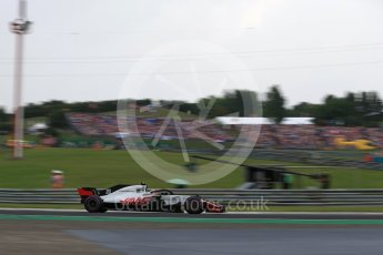 World © Octane Photographic Ltd. Formula 1 – Hungarian GP - Qualifying. Haas F1 Team VF-18 – Kevin Magnussen. Hungaroring, Budapest, Hungary. Saturday 28th July 2018.