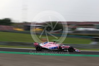 World © Octane Photographic Ltd. Formula 1 – Hungarian GP - Qualifying. Sahara Force India VJM11 - Sergio Perez. Hungaroring, Budapest, Hungary. Saturday 28th July 2018.