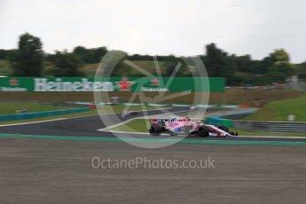 World © Octane Photographic Ltd. Formula 1 – Hungarian GP - Qualifying. Sahara Force India VJM11 - Esteban Ocon. Hungaroring, Budapest, Hungary. Saturday 28th July 2018.