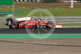 World © Octane Photographic Ltd. FIA Formula 2 (F2) – Hungarian GP - Qualifying. Charouz - Antonio Fuoco. Hungaroring, Budapest, Hungary. Friday 27th July 2018.