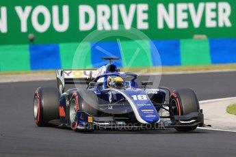 World © Octane Photographic Ltd. FIA Formula 2 (F2) – Hungarian GP - Qualifying. Carlin - Sergio Sette Camara. Hungaroring, Budapest, Hungary. Friday 27th July 2018.