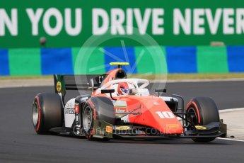 World © Octane Photographic Ltd. FIA Formula 2 (F2) – Hungarian GP - Qualifying. MP Motorsport - Ralph Boschung. Hungaroring, Budapest, Hungary. Friday 27th July 2018.